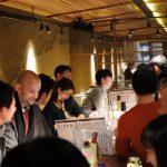 The legendary sake sales person's sake standing bar