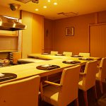 The authentic Japanese restaurant in Ginza only for JPY2,000.