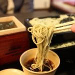 The big three of soba noodle in Tokyo