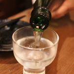 """Large sake selection in Japanese """"salary-men""""'s territory"""