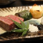 Awesome wagyu beef kaiseki course